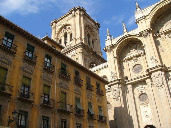 Catedral de Granada: particolare facciata