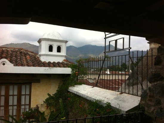 Hotel Meson de Maria : Breathtaking views outside my door