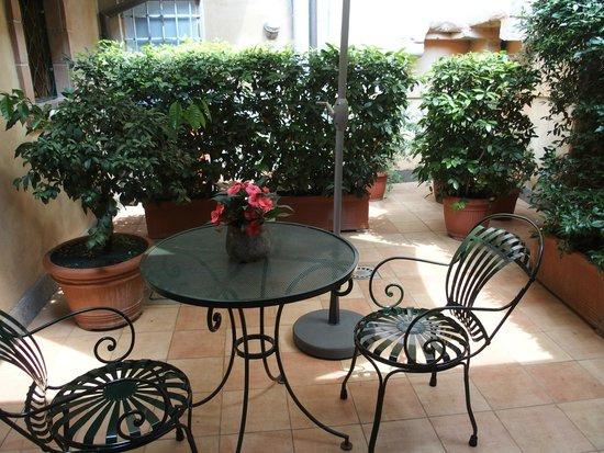 Hotel Santa Maria: Room 1 terrace