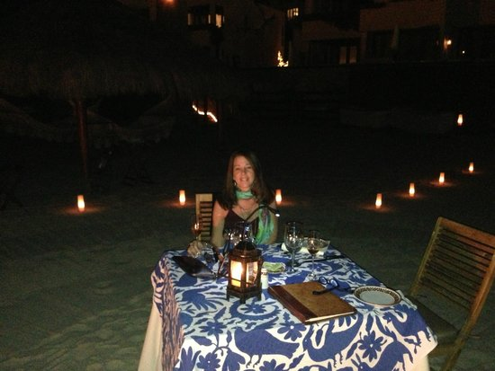 Las Ventanas al Paraiso, A Rosewood Resort: Dinner on the beach