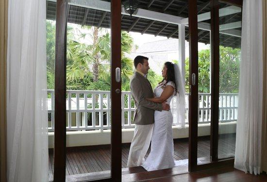 Anantara Vacation Club Bali Seminyak: Master Bedroom Balcony