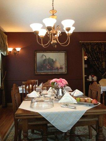 بيكون إن آت سيدني بي آند بي: The main dining room