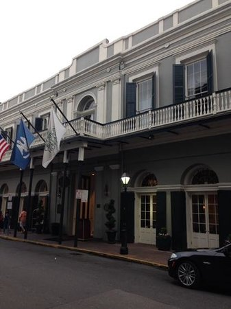 Bourbon Orleans Hotel: front of hotel