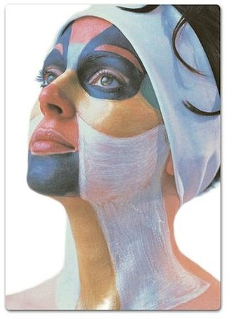 Healing Springs Health Spa: Energetic Skin Care 5 elements reflex zone mask