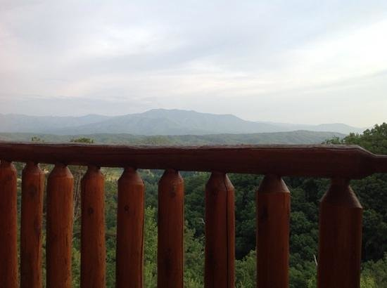 Legacy Mountain Resort: view from deck