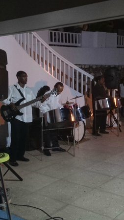 Couples Tower Isle: Steel Band at Beach party