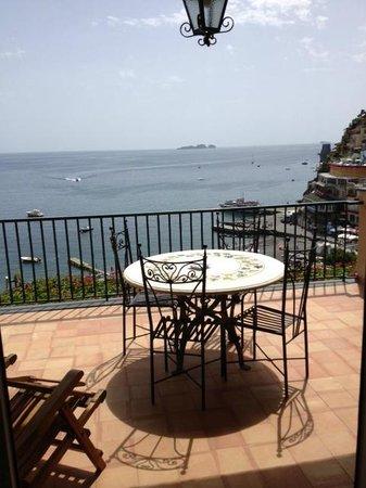 Hotel Buca di Bacco: Terrace