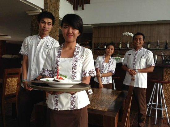 The Kirana Hotel Resto and Spa : staff