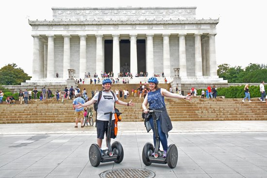 Private DC Segway Tours: In the Lincoln Memorial!!!!