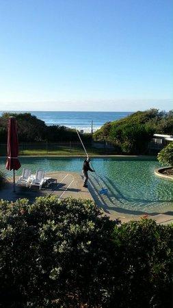 Ramada Resort Diamond Beach: Beach House View