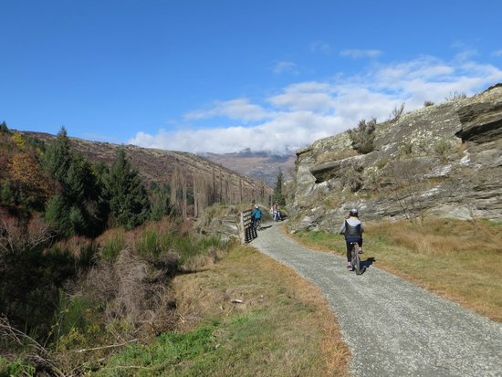 Arrowtown Bike Hire: The bike track