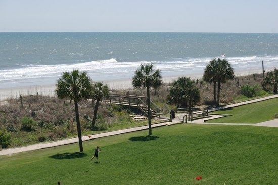 Springmaid Oceanfront Resort Myrtle Beach : great beach view from every balcony
