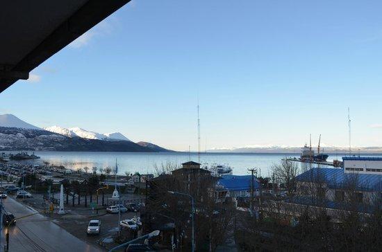 Hotel Canal Beagle: Vista desde la habitación