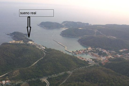 Sueno Real: Areal View