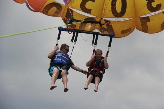 FlyOCNJ Parasail: parasailing at Top Gun Parasail in OC NJ