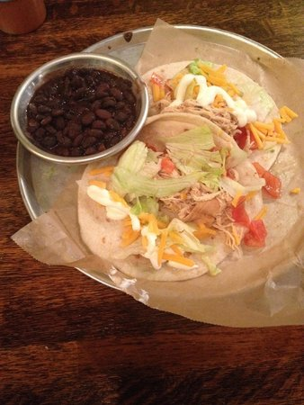 Crafted, The Art of the Taco: Braised Chicken Tacos