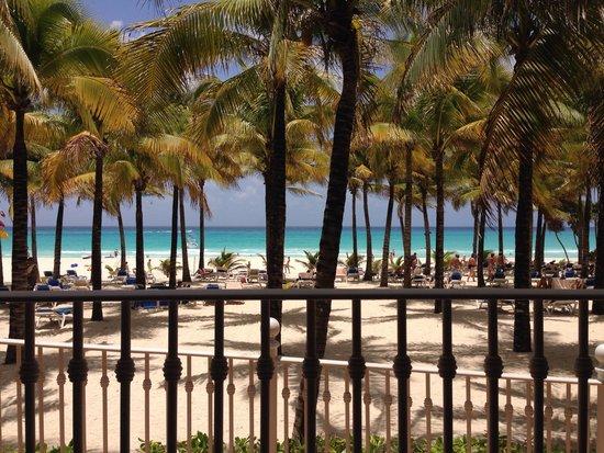 Hotel Riu Palace Riviera Maya: View from chilis