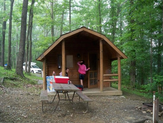 Front Of Cabin Picture Of Harpers Ferry KOA Harpers Ferry - Trip advisor harpers ferry