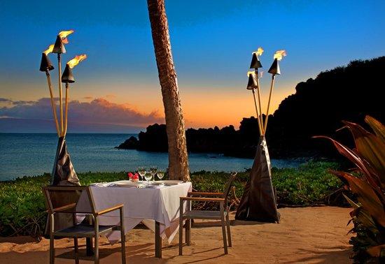 Sheraton Maui Resort & Spa : Dinner Under The Stars