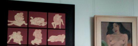 BenCab Museum: sneek at the Erotica Room