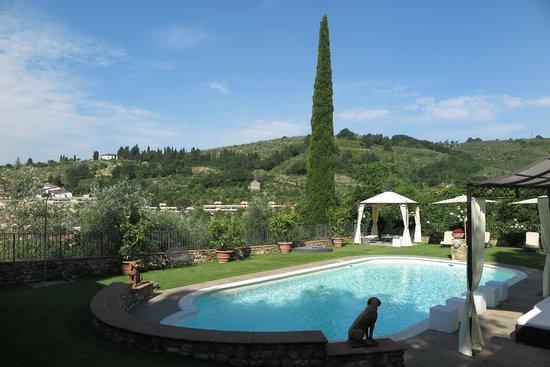 Relais Villa Il Sasso Historical Place : Pool