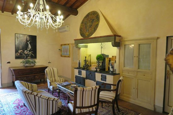 Relais Villa Il Sasso Historical Place: Breakfast room