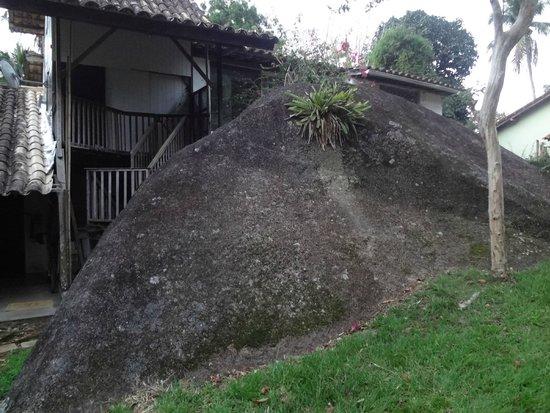 Pousada Casa Grande: Pedra