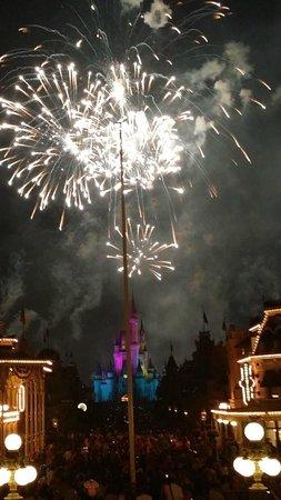 Wishes Fireworks: Magic Kingdom