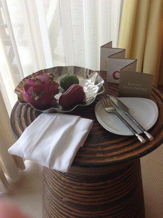 Centara Grand Mirage Beach Resort Pattaya: Compliments when arrived :)