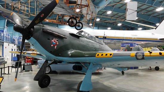 Reynolds-Alberta Museum: A Hawker Hurricane