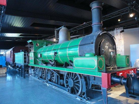 Thirlmere Flyer Steam Train: 1866 0-6-0 Steam Locomotive