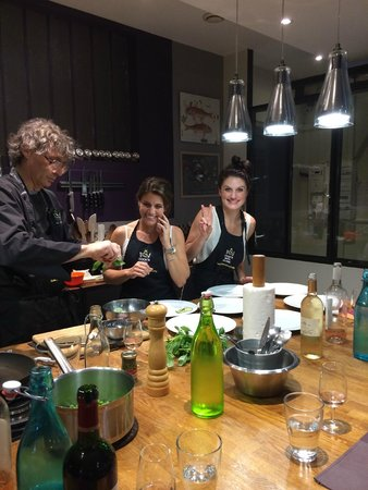 Cook'n With Class Paris : lots to learn