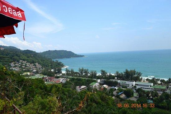 Baan Chom View : Restaurant view