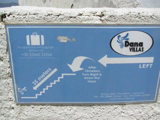 Dana Villas Hotel & Suites: acesso