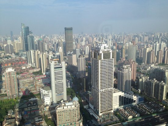 JW Marriott Hotel Shanghai at Tomorrow Square : Morning view from our room