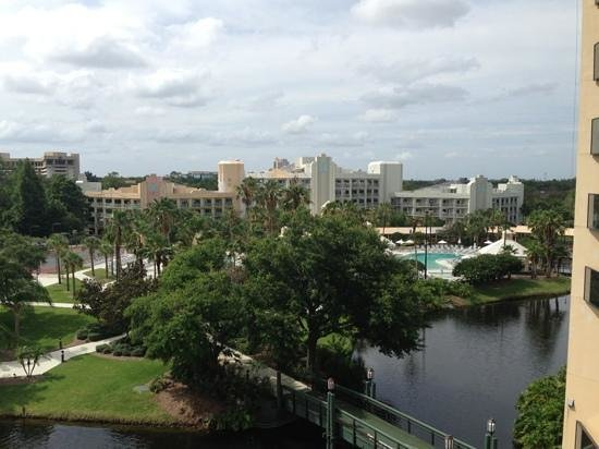 Hilton Orlando Buena Vista Palace Disney Springs: View from our room