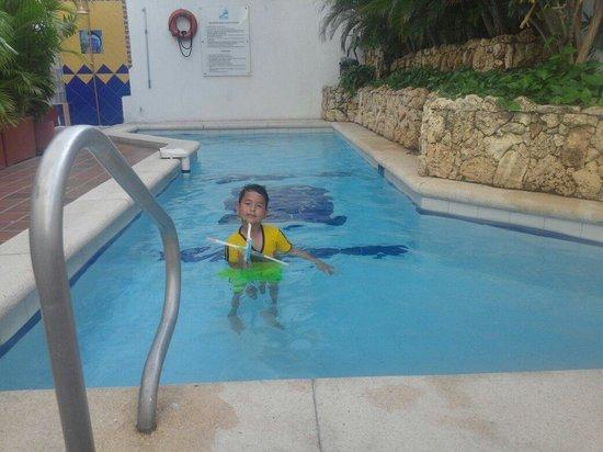 Hotel Barlovento : Mi hijo disfrutando este apasible lugar