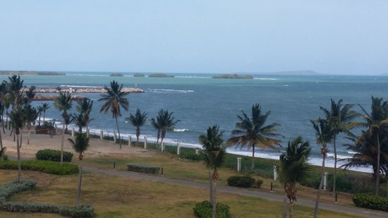Hilton Ponce Golf & Casino Resort: The view from our room