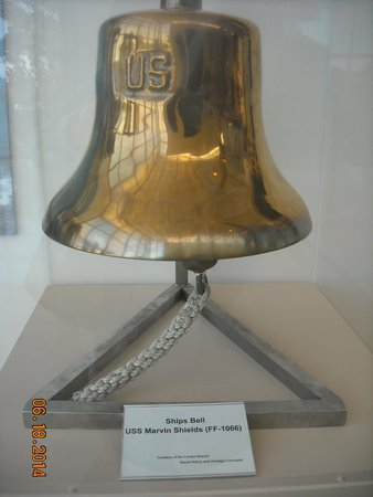 U.S. Navy Seabee Museum: The bell