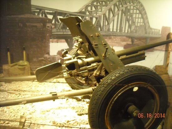 U.S. Navy Seabee Museum: A piece of artillery