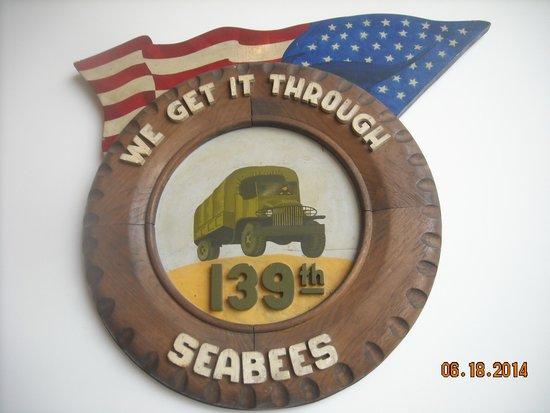 U.S. Navy Seabee Museum: A Seabee logo