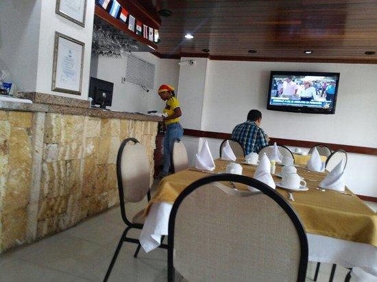 Hotel Barlovento: El servicio de restaurante muy bien