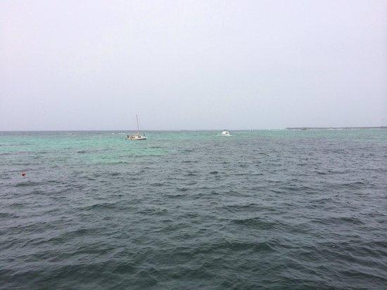 Ocean Adventures Stingray Bay Caribbean Festival : Beautiful ride out
