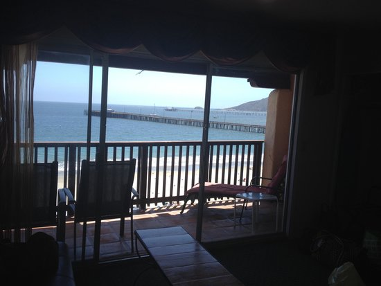 Inn at Avila Beach: View from room and deck