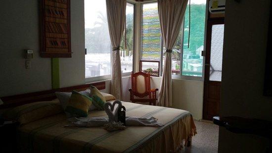 La Cabana de Puerto Angel: Una linda habitación