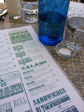 cody's menu