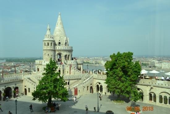 Hilton Budapest: Вид из окна