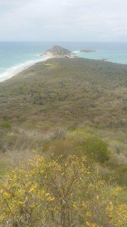 Isla de Caja de Muertos: View from El Faro