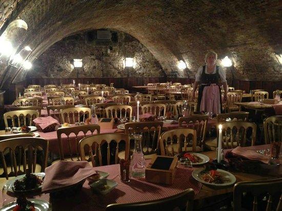 Ottakringer Landhaus : Salón en subsuelo