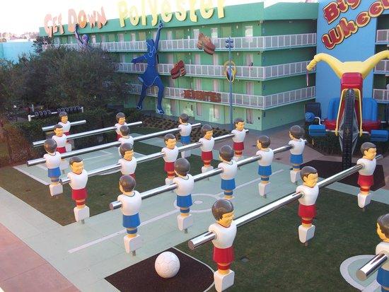 Disney's Pop Century Resort: Vista desde habitación